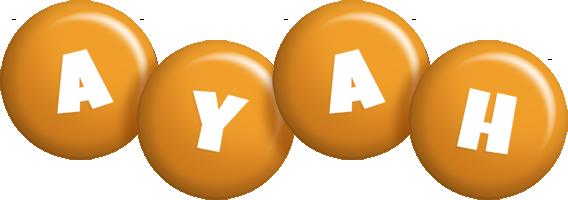 Ayah candy-orange logo
