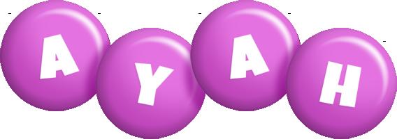 Ayah candy-purple logo