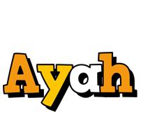 Ayah cartoon logo