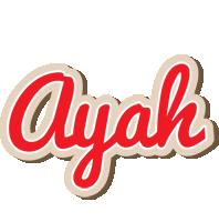 Ayah chocolate logo