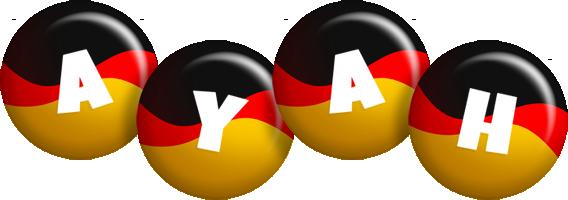 Ayah german logo