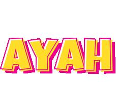 Ayah kaboom logo