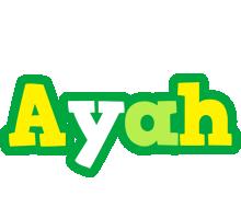 Ayah soccer logo