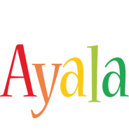 Ayala birthday logo