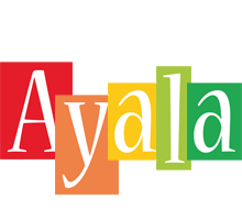 Ayala colors logo