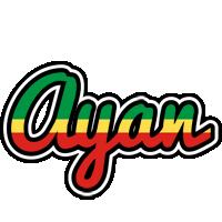 Ayan african logo