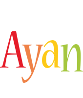 Ayan birthday logo