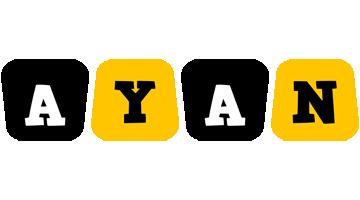 Ayan boots logo
