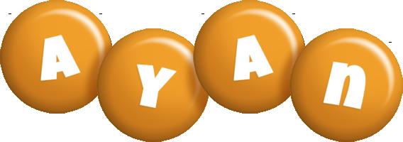 Ayan candy-orange logo