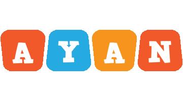 Ayan comics logo