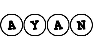 Ayan handy logo