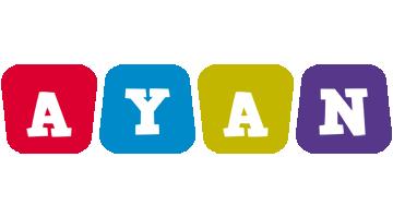 Ayan kiddo logo