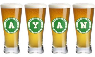 Ayan lager logo