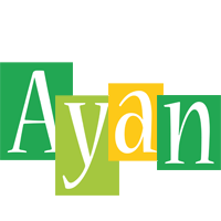 Ayan lemonade logo