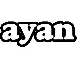 Ayan panda logo