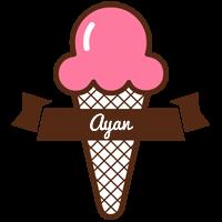Ayan premium logo