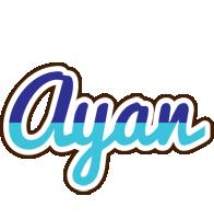 Ayan raining logo