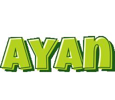 Ayan summer logo