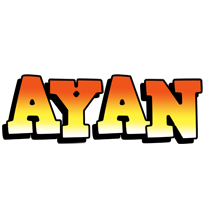 Ayan sunset logo