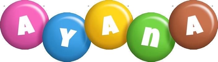 Ayana candy logo