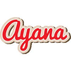Ayana chocolate logo