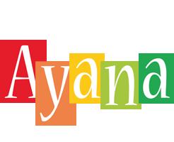 Ayana colors logo