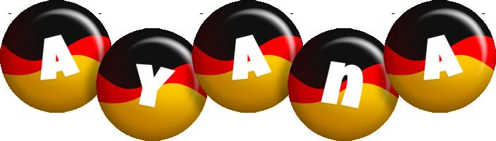 Ayana german logo