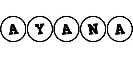 Ayana handy logo