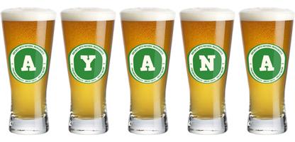 Ayana lager logo