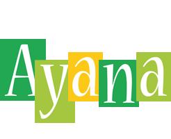 Ayana lemonade logo