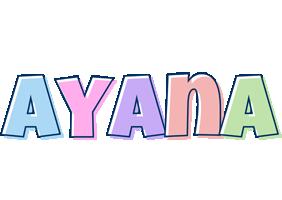 Ayana pastel logo
