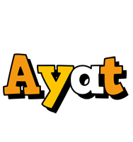 Ayat cartoon logo