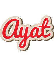 Ayat chocolate logo