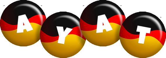 Ayat german logo