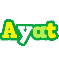 Ayat soccer logo
