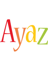 Ayaz birthday logo