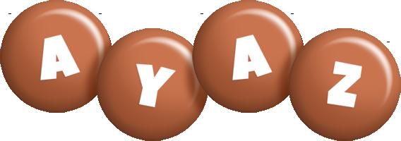 Ayaz candy-brown logo