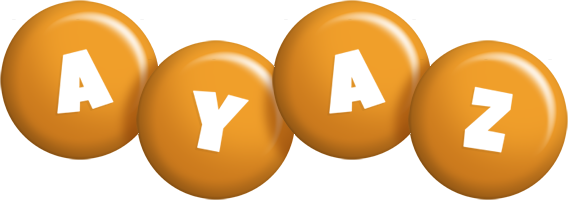 Ayaz candy-orange logo