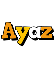 Ayaz cartoon logo