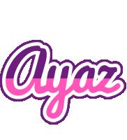 Ayaz cheerful logo