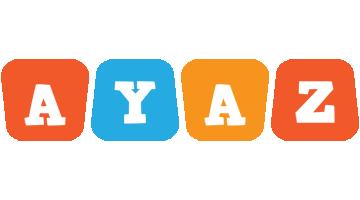 Ayaz comics logo
