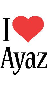 Ayaz i-love logo