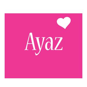 Ayaz love-heart logo