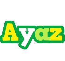 Ayaz soccer logo