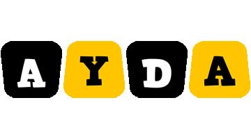 Ayda boots logo