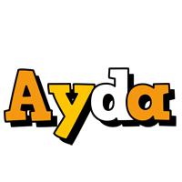 Ayda cartoon logo