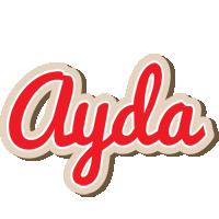 Ayda chocolate logo