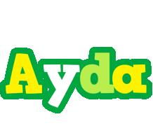 Ayda soccer logo