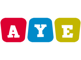 Aye kiddo logo