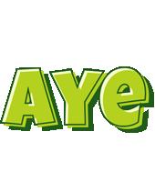 Aye summer logo